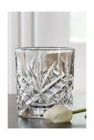 James Scott Double Old Fashioned Crystal Drinking Glasses Set I... Free Shipping