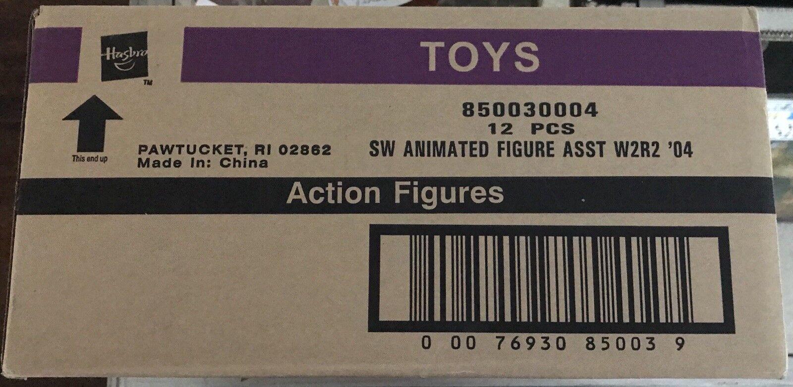 Clone Wars Animerad stjärnornas krig Case 12 PC 850030004 Action Figur