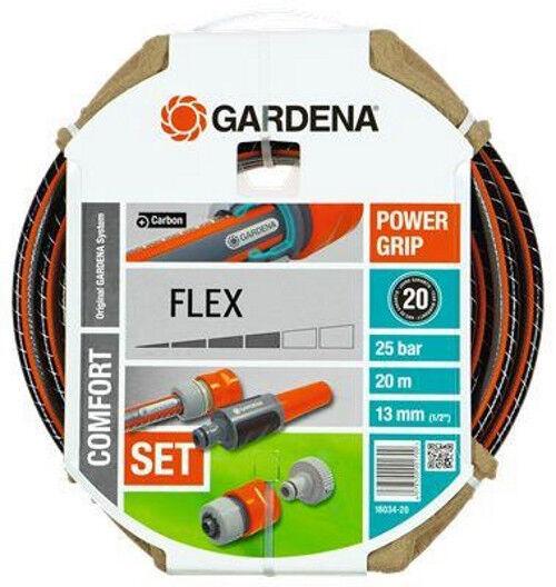 GARDENA Comfort FLEX Schlauch Gartenschlauch 13mm (1 2) 20m Systemteile (18034) | Hohe Qualität und günstig  | Ausgezeichnete Qualität  | Wunderbar