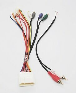 acura tl amp wiring wiring wire harness   rca for factory stock sub input plug  wiring wire harness   rca for factory