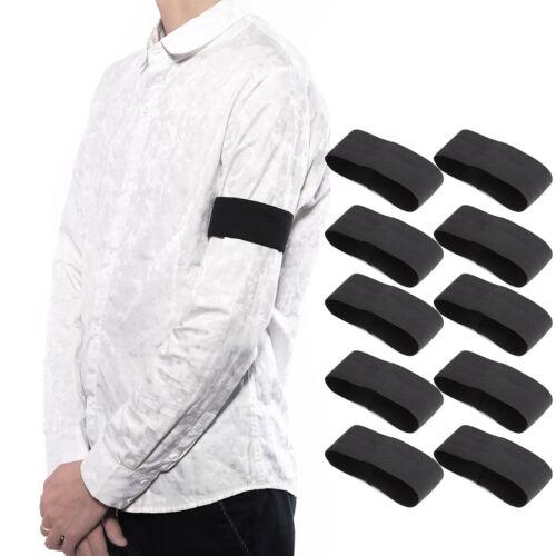 10x Sport Trauerband Trauerflor Seidenband Schleifenband Schwarz