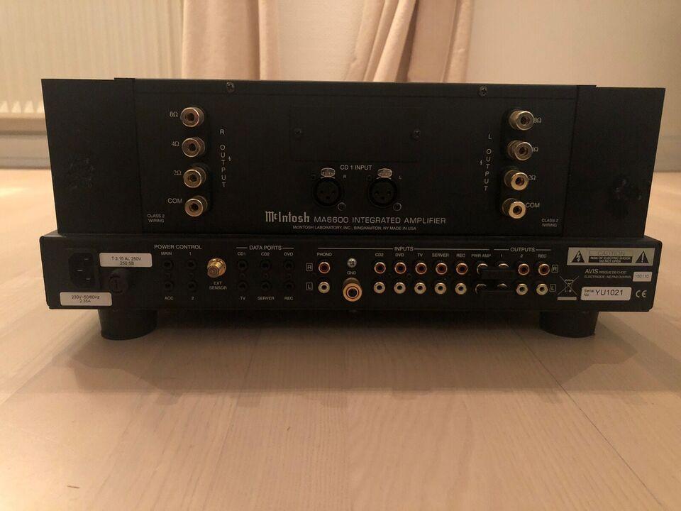 Integreret forstærker, Mcintosh, MA6600