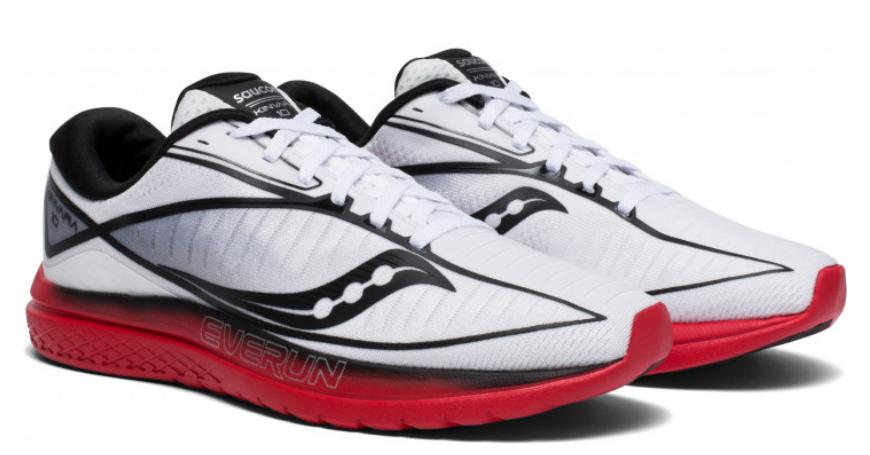 Saucony kinvara 10 Talla EU 9m (D) 42.5 mens running zapatos blancoo s20467-3