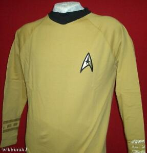 Replica  NEU ovp M Uniform STAR TREK Classic Kirk
