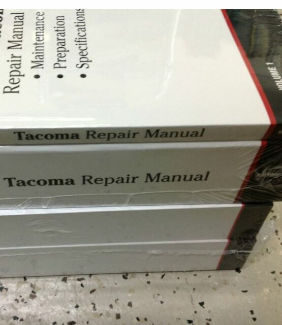2003 Toyota Tacoma Truck Service Shop Repair Manual Set W