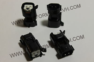 DENSO To EV6 Fuel Injector Connector Adapters 2jzgte 2jzge 2jz-gte 7mgte 1jzgte