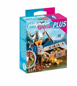 PLAYMOBIL-5371-SPECIAL-PLUS-VIKINGO-CON-TESORO-VIKING-WITH-TREASURE