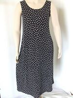 Travel Knit Dress, Long A-Line Tank, NEW, stretchy wash&wear poly/span #032