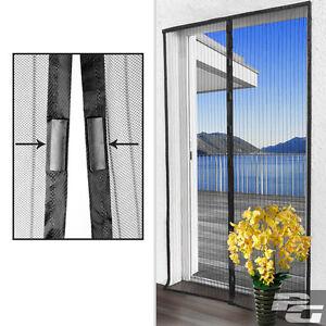 fliegengitter vorhang insektenschutz magnet m ckenschutz moskitonetz fliegennetz ebay. Black Bedroom Furniture Sets. Home Design Ideas