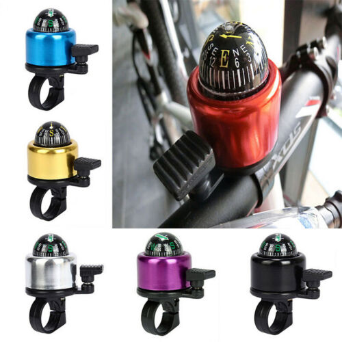 Bike Cycling BMX MBB Handlebar Compass Ring-down Horn Bicycle Bell Popular*