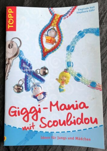 Buch Giggi-Mania Basteln Flechtschnüre Scubidou Skubidou Set Scoubidou Bänder