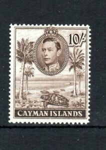 Cayman-Islands-1943-10s-perf-14-MLH