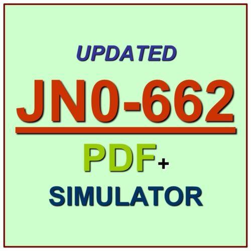 Juniper Service Provider Routing Switching JNCIP-SP Exam JN0-662 Test QA PDF+SIM