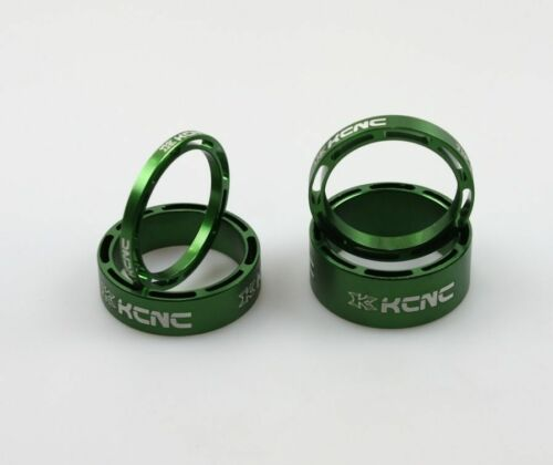 New KCNC Hollow Headset Spacer set 3//5//10//14mm