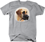 Cute Great Dane Dog Head Looking Shirt Quote T Shirt
