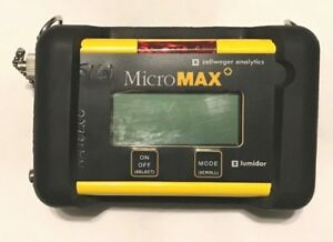 Details about HONEYWELL / ZELLWEGER LUMIDOR MICROMAX MPLUS-4 ABCD MULTI GAS  DETECTOR MONITOR