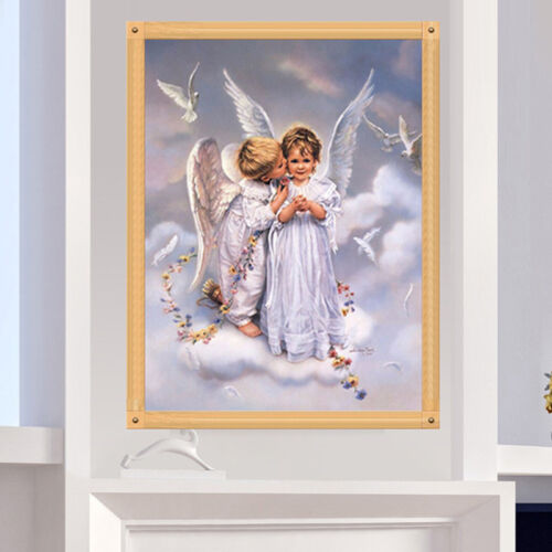 New 5D Diamond Painting Little Angel Embroidery Cross Stitch Home Decor 3 pols