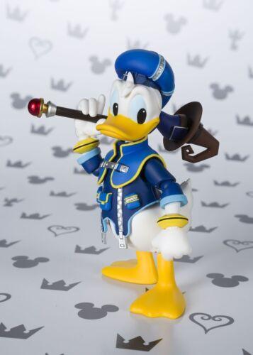 Figuarts DONALD DUCK Bandai S.H Kingdom Hearts II Giappone Versione