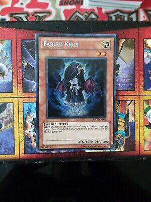 Yugioh Fabled Krus HA03-EN002 Secret Rare 1st Edition