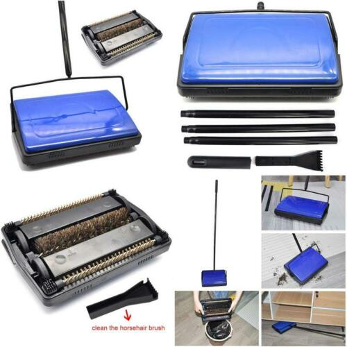 Floor SweeperWith Horsehair Roto Brush Strong Ez Spares Quiet Carpet Sweeper