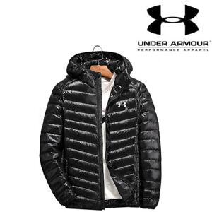 9611d62fe Details about Under Armour Men's Fashion Winter Warm Thin Hood flimsy Down  Jacket Sportswear