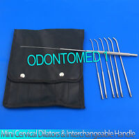 Mini Cervical Dilators Kit Of 5 Interchangable Handle 1,1.5,2,2.5-3mm