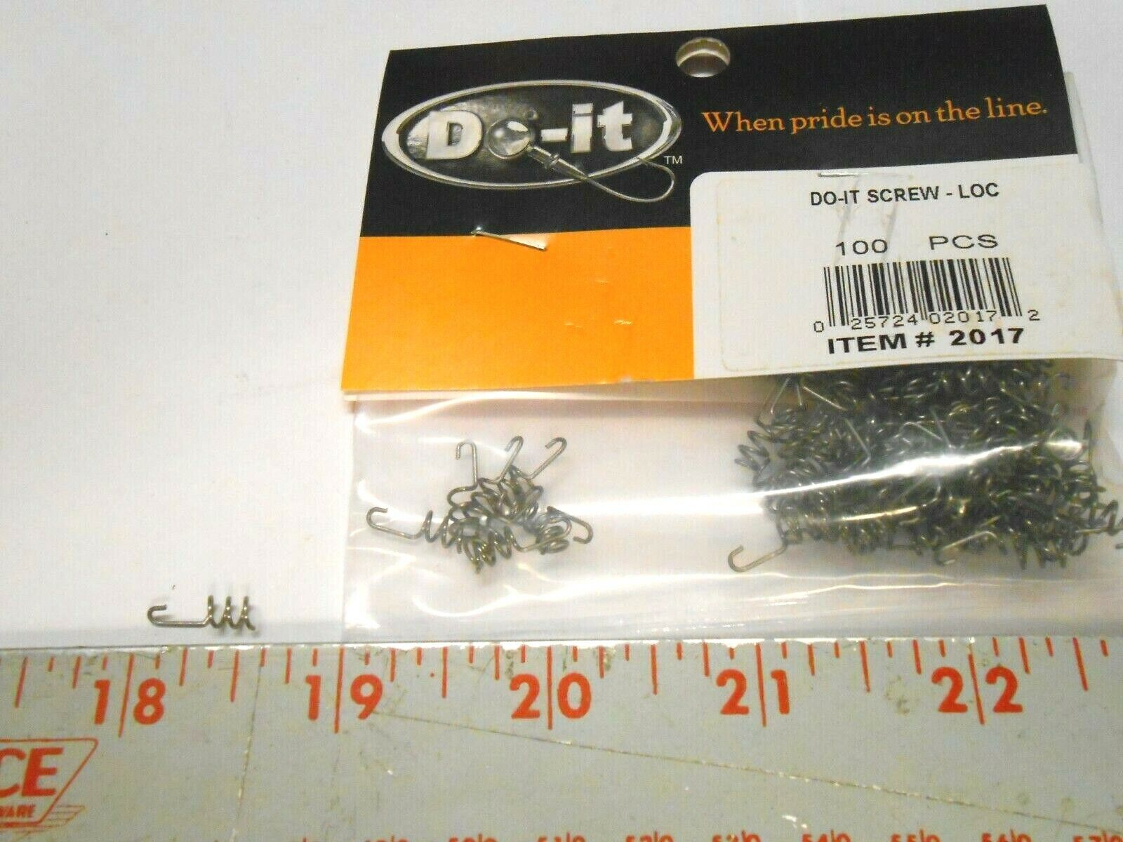 Do-It HITCHHIKERS /& SCREW-LOCS  I REFUND EXCESS SHIPPING FEES!!