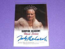 2014 Leaf JOELY RICHARDSON Autograph SP Vampire Academy - NIP/TUCK - The Patriot