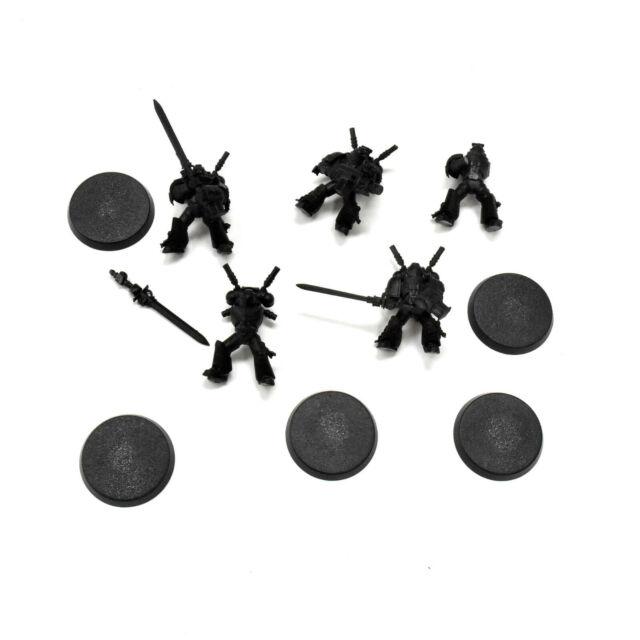 GREY KNIGHTS 5 Strike squad Warhammer 40K missing some parts