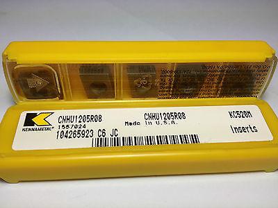 CNHU 1205R08 KC725M KENNAMETAL Cemented Inserts 1376 10pcs