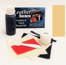Air Dry Leather & Vinyl Repair Kit Color Repair Recolor & Restore BEIGE