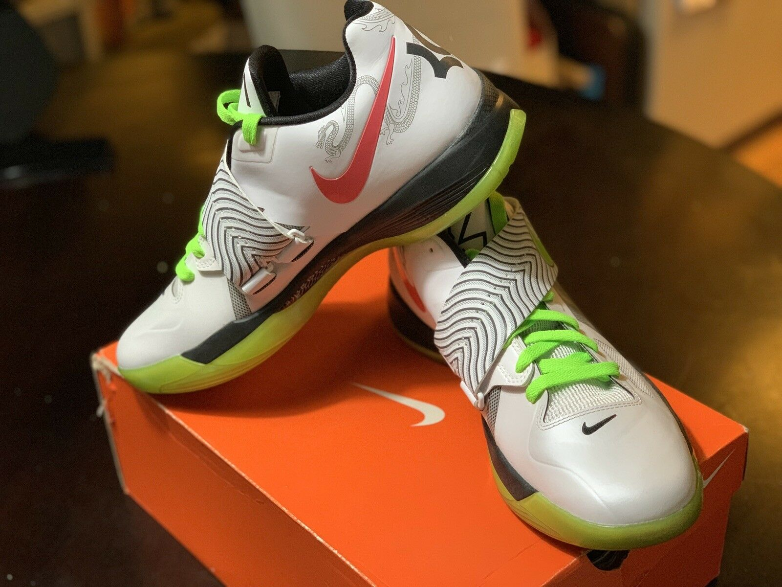 New In Box EXTREMELY RARE KD IV Year Of The Dragon NIKE ID SIZE 10 MUST SEE