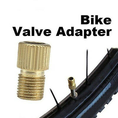 6pcs//lot Car Bicycle Road Tube Cap pump connector Adapter Valve aluminium Alloy