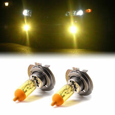 YELLOW XENON H7 100W BULBS TO FIT Volvo S60 MODELS
