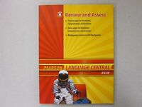 Pearson Language Central Eld Grade 8 Review And Assess Book 0133675203