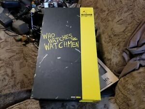 Heroclix-DC-Watchmen-25-figure-Limited-Edition-Collector-039-s-Boxed-Set