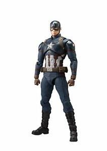 S-H-Figuarts-Avengers-Endgame-CAPTAIN-AMERICA-Action-Figure-BANDAI-NEW