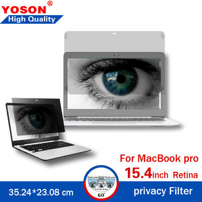 Privacy Filter Screens Protective Film For Macbook Pro 13.3inch  31.83*21.24 cm