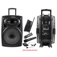 Fenton FPS15 USB Wireless Microphone Portable PA System Aerobics Dance Gym  350W b81c193c660e4