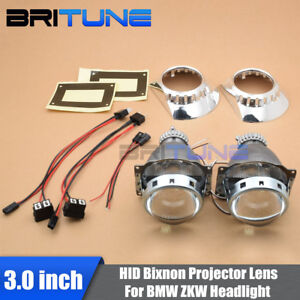 For-BMW-3-E46-ZKW-D2S-Headlight-Repair-Kit-Retro-quick-Bi-Xenon-Projector-Lens