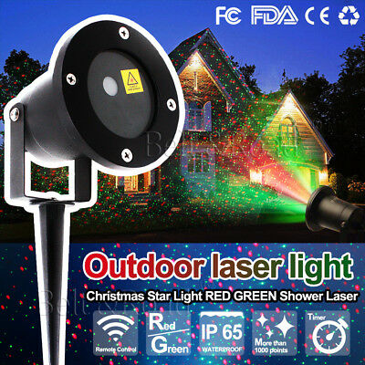 New Laser Fairy Light Projection Projector Christmas Outdoor Landscape LED Lamp