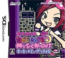 Used Nintendo DS Pinky Street Kira Kira * Music Night Japan Import Free Shipping