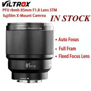 VILTROX-85MM-F1-8-STM-X-mount-Focus-Lens-AF-Full-Frame-for-fujifilm-x-mount-New