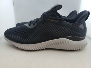 new product e0a6b f215b Image is loading Adidas-AlphaBounce-EM-M-Black-White-Running-Shoes-