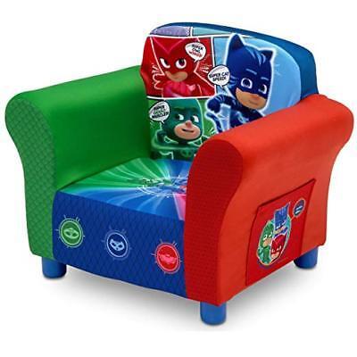 Kids Chair PJ Masks Childrens Bedroom Furniture Toddler Upholstered Seat  Soft 648038441589 | eBay