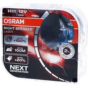 OSRAM-H11-Night-Breaker-LASER-Next-Generation-150-mehr-Helligkeit-Power-DUO-BOX