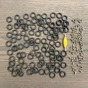 Lot-50-pcs-GI-Joe-Cobra-Action-Force-O-RINGS-Waist-Bands-amp-50-pcs-screws