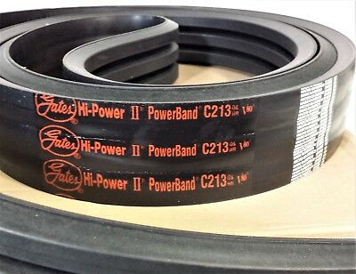 D/&D PowerDrive 2//A56 Banded V Belt