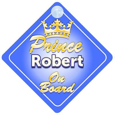 2019 Moda Principe Ereditario Robert A Bordo Personalizzata Baby Boy Auto Firmare-