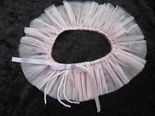 GARTER FOR USE WITH STOCKINGS PEARL & FRILLY PINK NET / SATIN LA SENZA BNWT